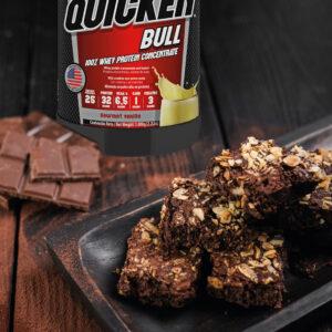 recetas con whey protein brownies de avena y whey protein