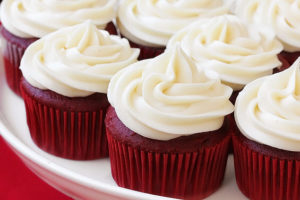 cupcakes de whey protein red velvet bajo en grasa