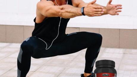 sentadilla rutina de pierna y suplementacion crecimiento muscular